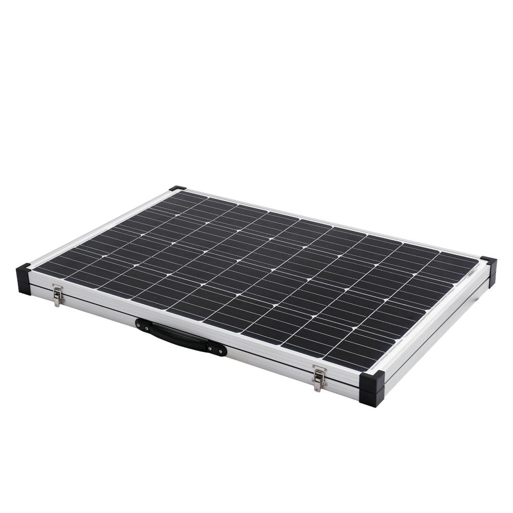 300w folding solar panel kit 12v mono caravan boat camping. Black Bedroom Furniture Sets. Home Design Ideas