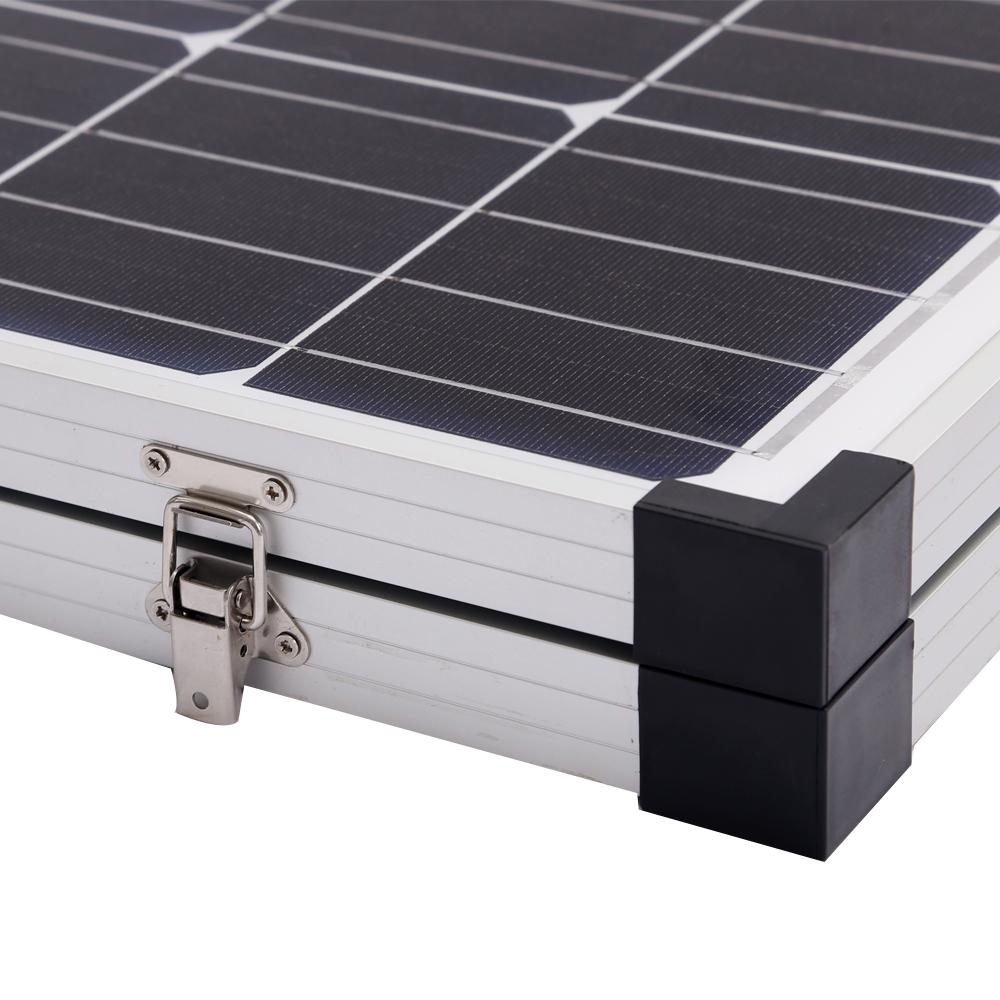 300w Folding Solar Panel Kit 12v Mono Caravan Boat Camping