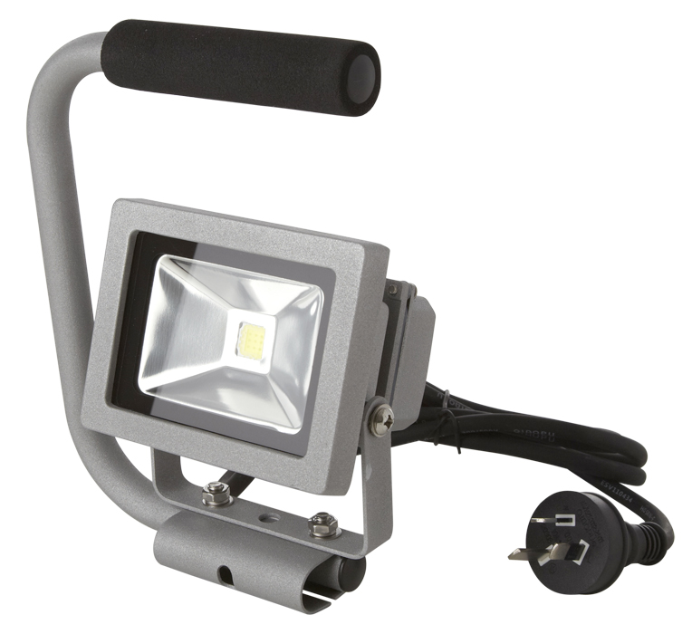 Portable 10w Led Work Flood Light Outdoor Camping Free